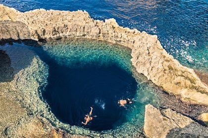 Trou Bleu - Ile de Gozo - Malte - Mirko/fotolia.com