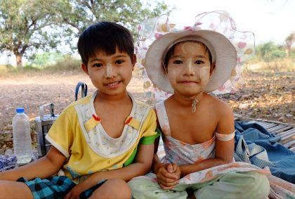Portrait d'enfants - Ava - Birmanie - Maryline Goustiaux