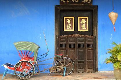 Devant l'hôtel Blue Mansion à Penang - Malaisie - Mario Savoia / Fotolia.com