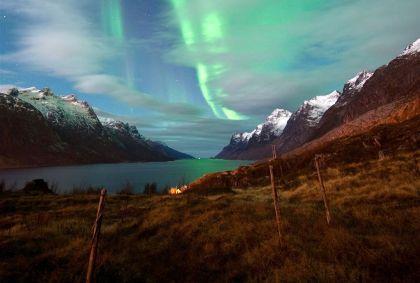 Aurore boréale - Comté de Troms - Norvège - Gaute Bruvik/visitnorway.com