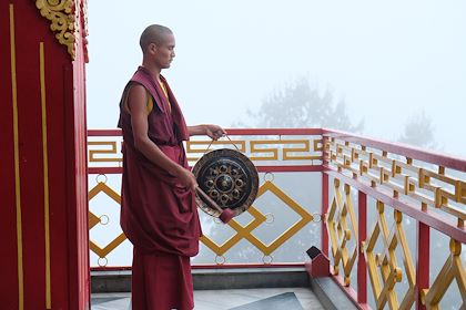 Monastère à Namo Buddha - Vallée de Kathmandu - Népal - Maryline Goustiaux