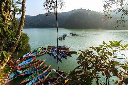 Lac Phewa - Pokhara - Népal - Jeff/fotolia.com