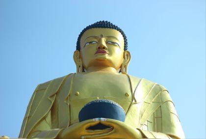 Statue de Bouddha - Népal - Coralie Verspieren