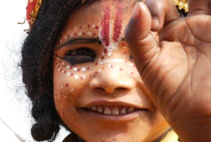 Portrait d'une enfant népalaise - Népal - Gustavofrazao/fotolia.com