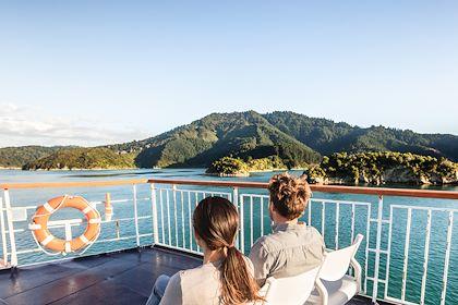 Croisière dans les Marlborough Sounds - Ile du Sud - Nouvelle-Zélande - Maridav/Stock.adobe.com
