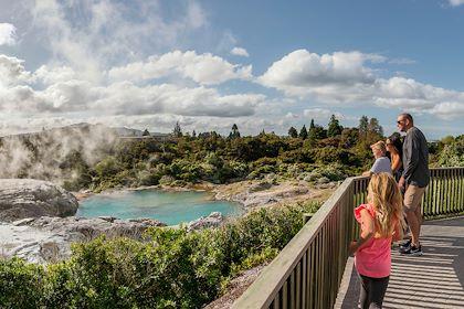 Wai-O-Tapu - Rotorua - Nouvelle-Zélande - Destination Rotorua/New Zealand Tourisme