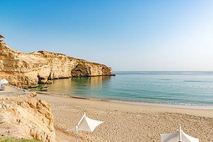 Plage d'Al-Jissah - Gouvernorat de Mascate - Oman - Richard Yoshida/Stock.adobe.com