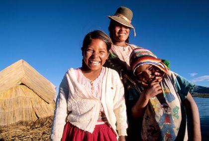 Indiens Uros à Puno - Pérou - Pawel Wysocki/hemis.fr
