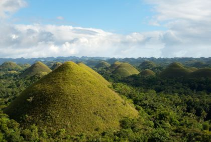 Chocolate Hills - Ile de Bohol - Archipel des Visayas - Philippines - Christopher Howey/fotolia