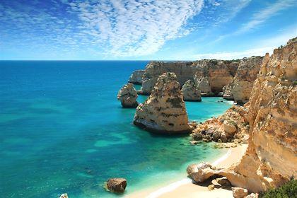 Praia da Marinha - Lagoa - Portugal - Springfield Gallery/fotolia.com