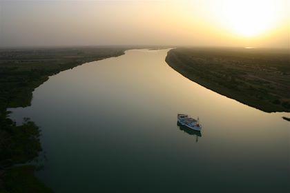 Croisière sur le fleuve Sénégal à bord du Bou el Mogdad - Bou el Mogdad