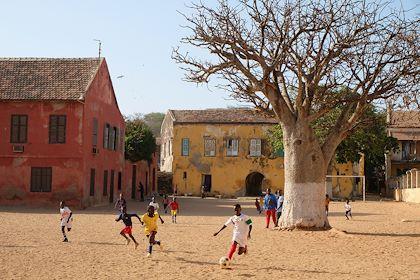 Ile de Gorée - Baie de Dakar - Sénégal - Maryline Goustiaux