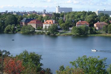 Vue depuis le musée en plein air de Skansen - Stockholm - Suède - Laetitia Georges