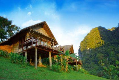 Cliff and River Jungle Resort - Khao Sok - Thaïlande - Cliff and River Jungle Resort
