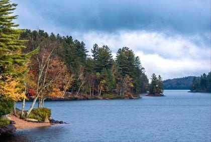 Le lac Placid dans les monts Adirondacks - New-York - Etats-Unis - Pankow/fotolia.com