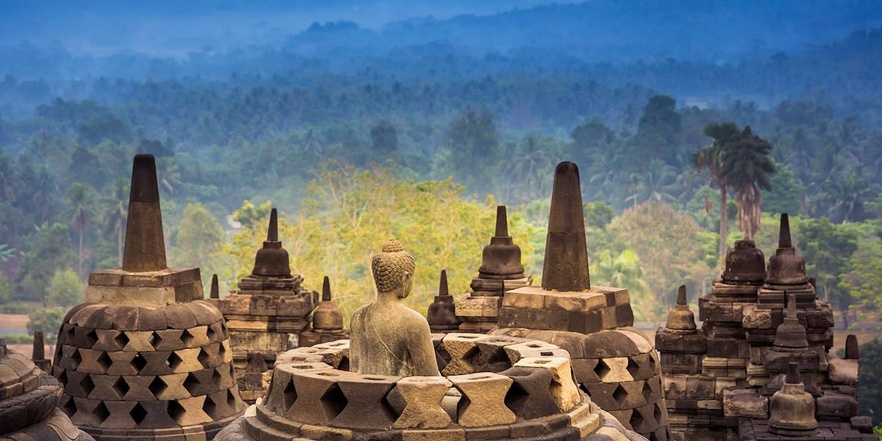 Temple Borobudur - Yogyakarta - Java - Indonésie