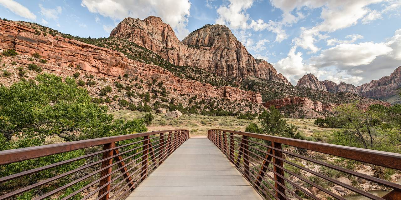 Pa'rus Trail - Parc national de Zion - Utah - Etats-Unis