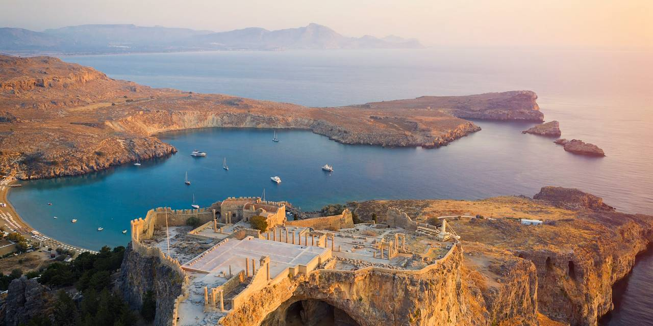 Acropole de Lindos - Ile de Rhodes - Grèce