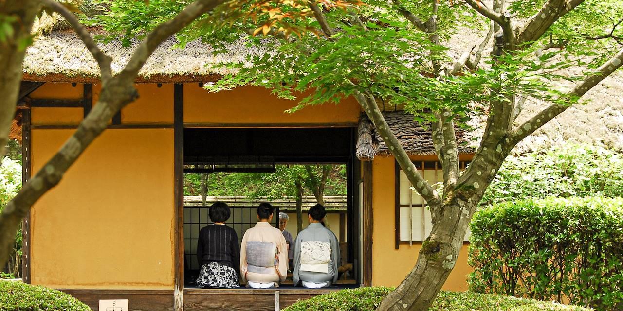 Cérémonie du thé - Kyoto - Japon
