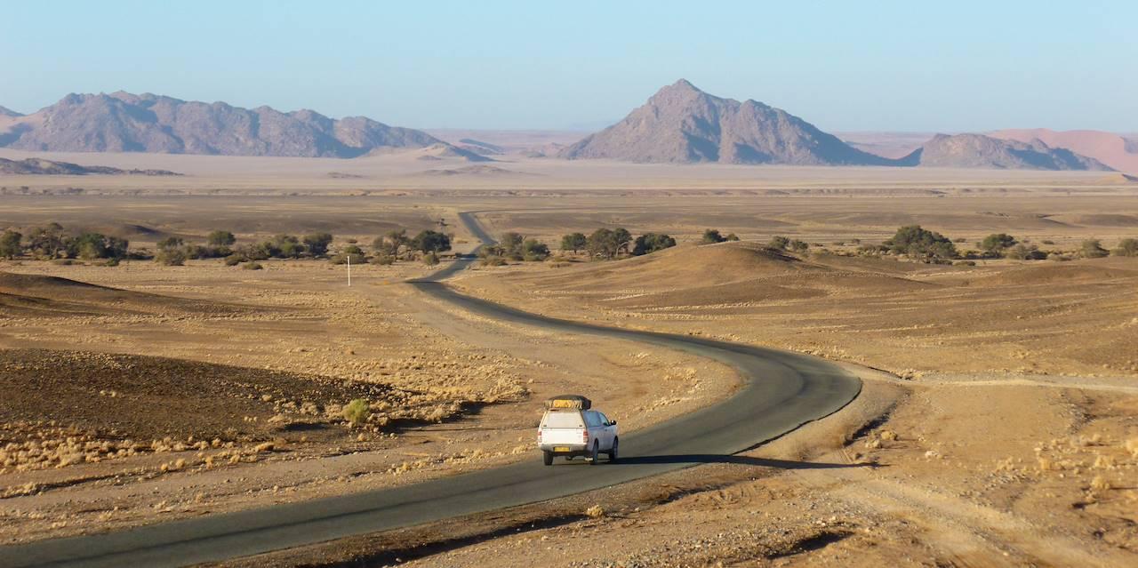 Sur la route - Namibie