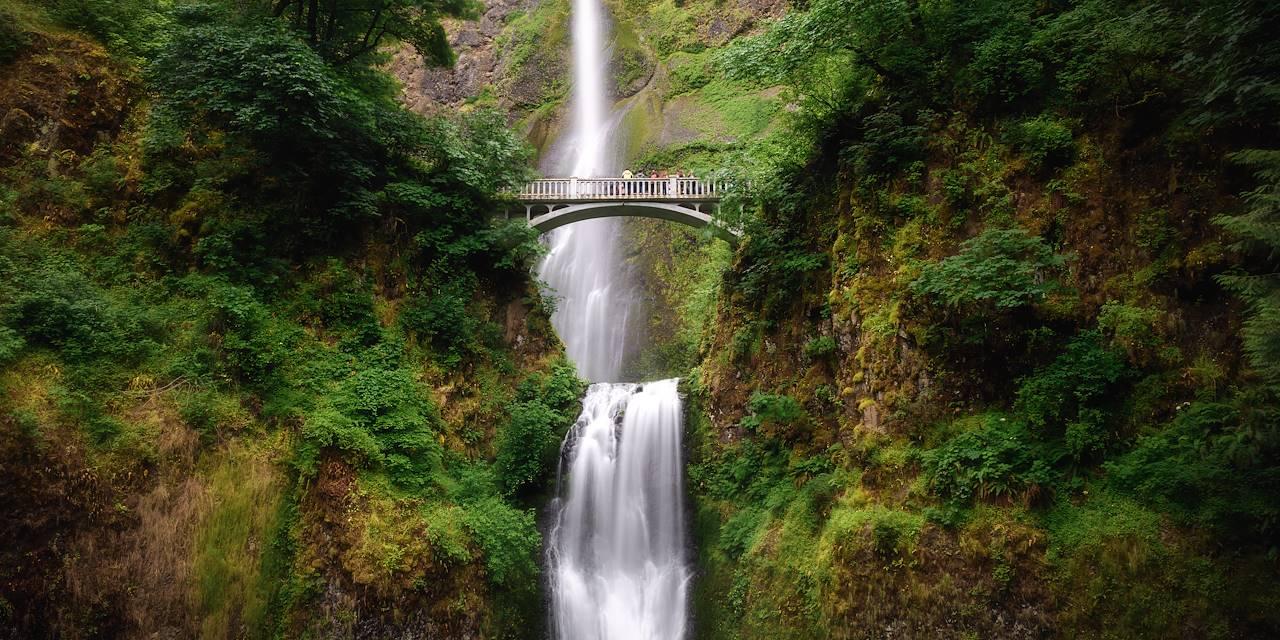 Chutes de Multnomah - Gorge du Columbia - Oregon - États-Unis