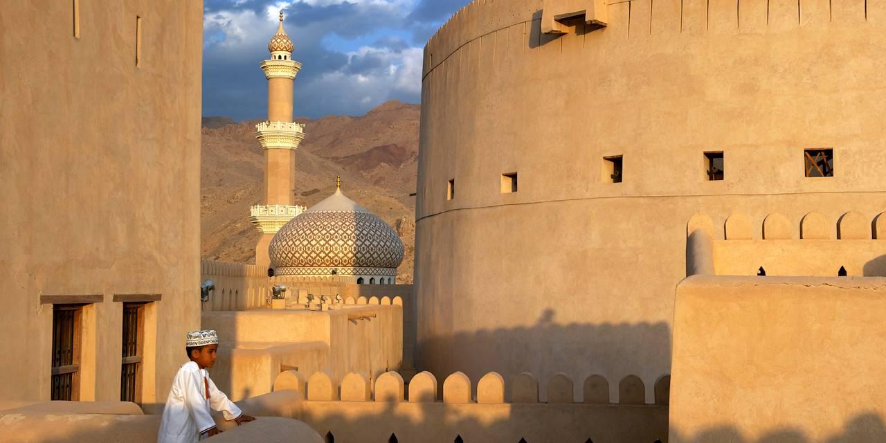 Fort et mosquée de Nizwa - région de Al-Dakhiliyah - Oman