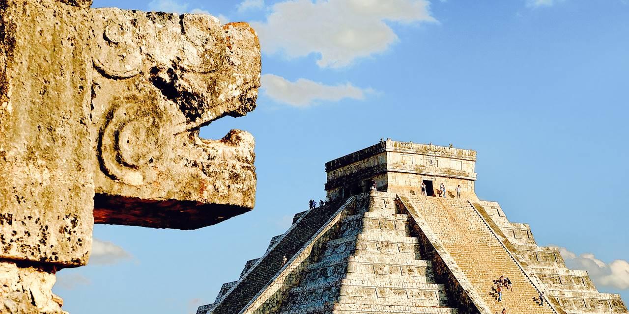 Pyramide de Chichén Itzá - Mérida - Yucatan - Mexique