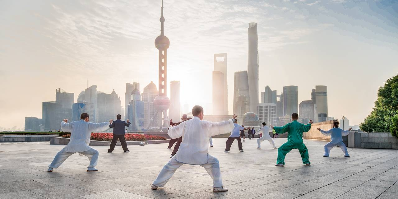 Tai chi à Shanghai - Chine