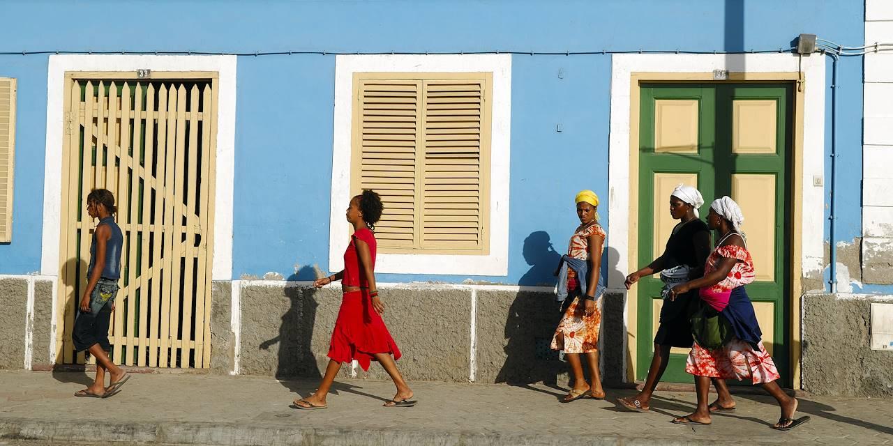 Dans les rues de Mindelo - Île de Sao Vicente - Cap Vert