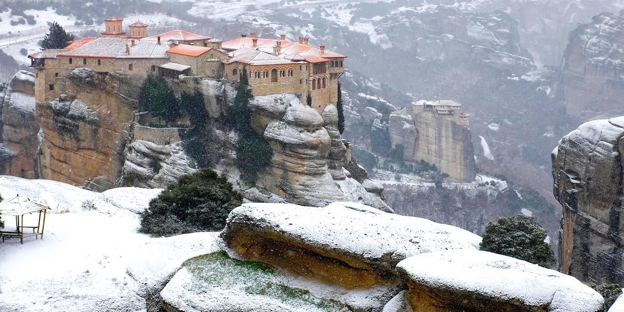 Monastère de Varlaam - Monastères des Météores - Thessalie - Grèce