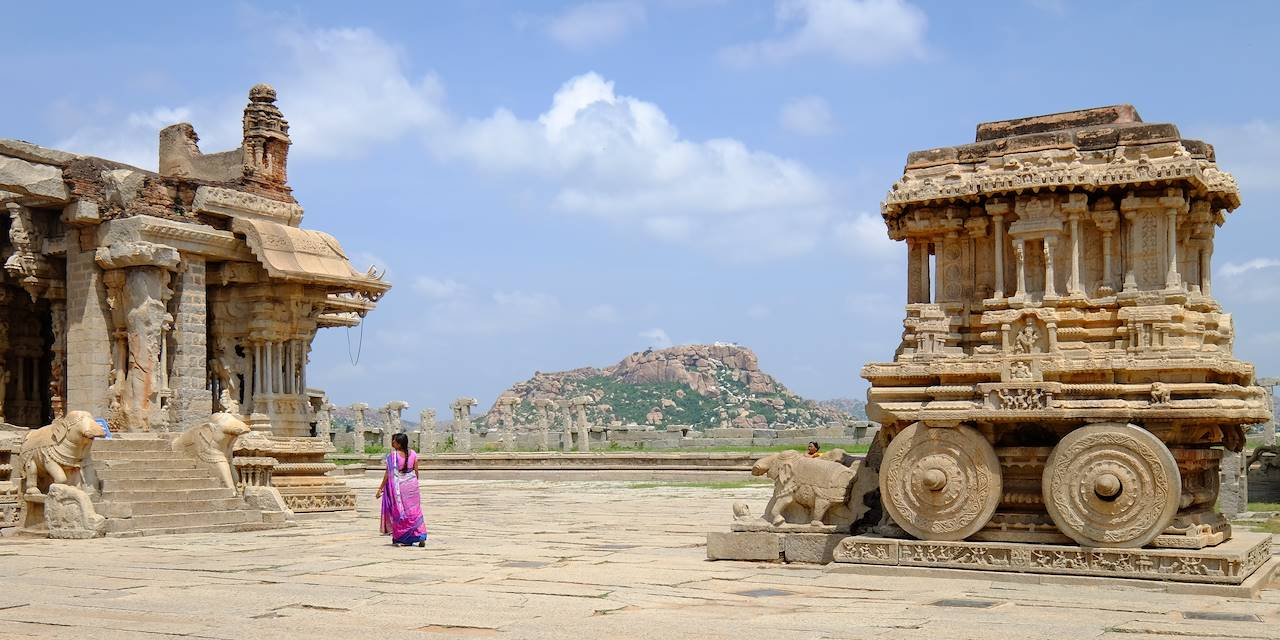 Le temple Vittala - Hampi - Karnataka - Inde