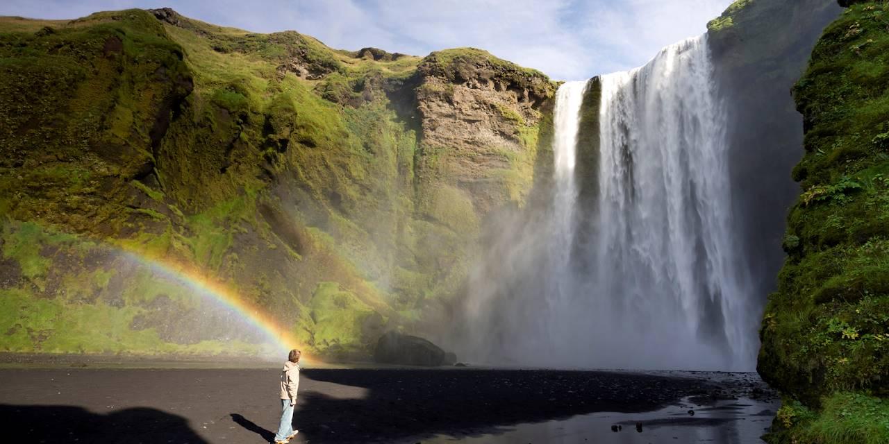 Chutes d'eau de Skogafoss  - Skogar - Islande