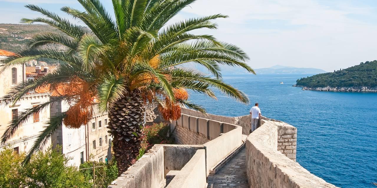 Sur les remparts de Dubrovnik - Dalmatie - Croatie