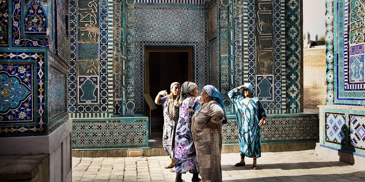 Nécropole Chah-e-Zindeh - Samarcande - Ouzbékistan