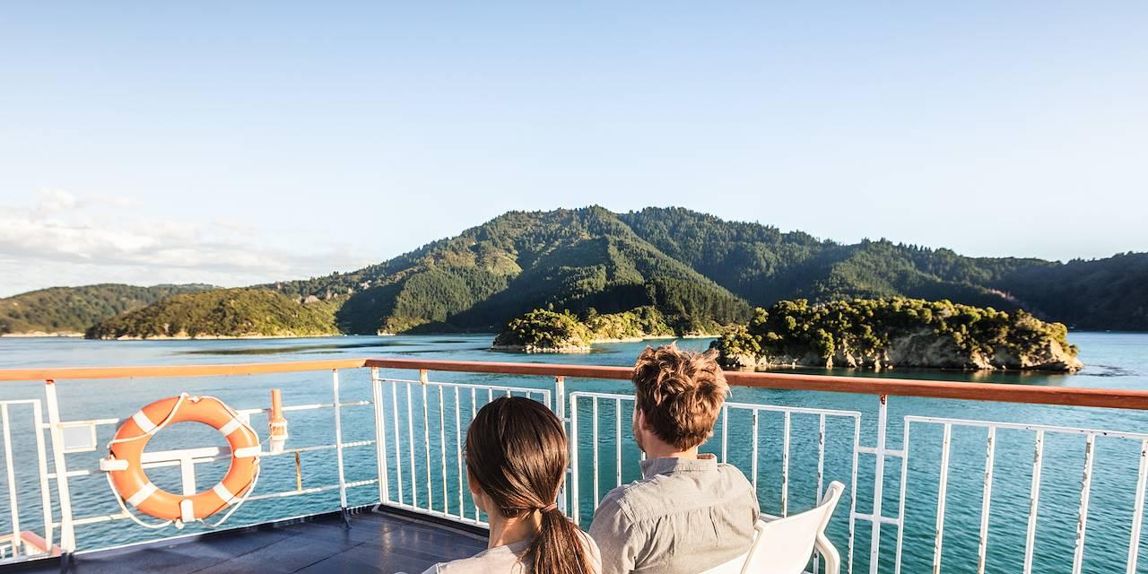 Croisière dans les Marlborough Sounds - Ile du Sud - Nouvelle-Zélande