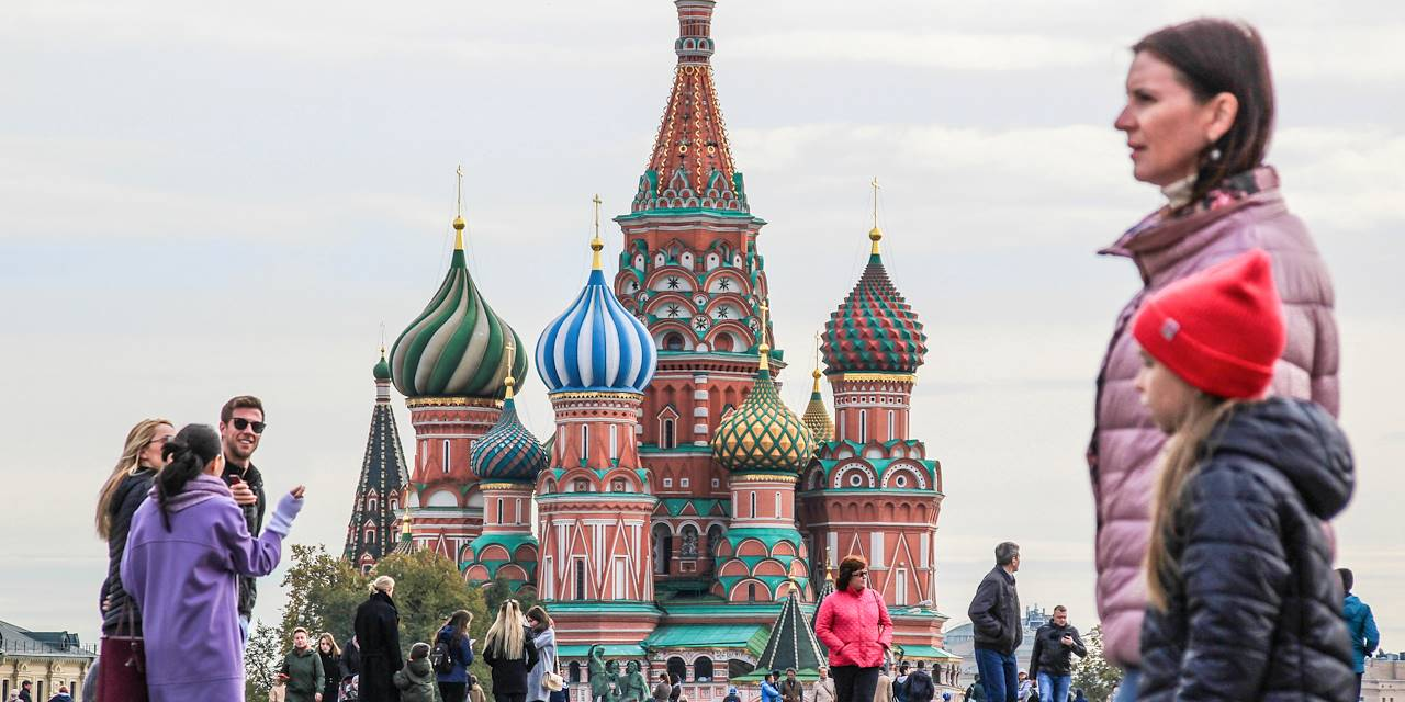 Cathédrale Basile-le-Bienheureux de Moscou - Russie