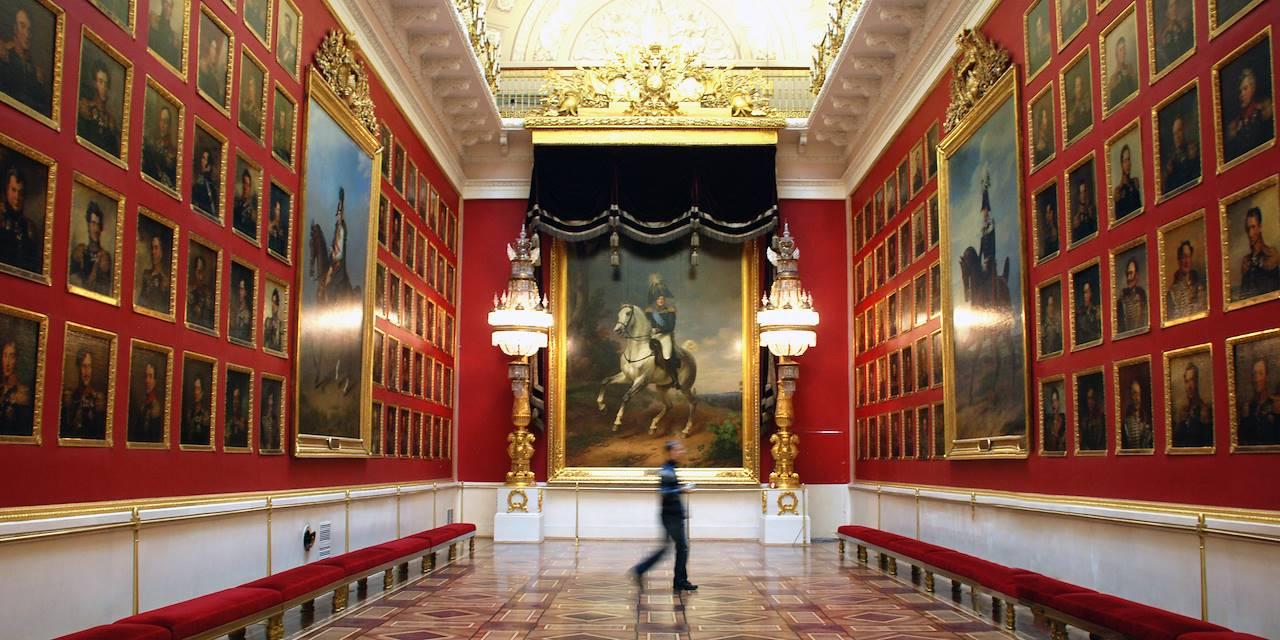 Musée de l'Ermitage à Saint-Pétersbourg - Russie