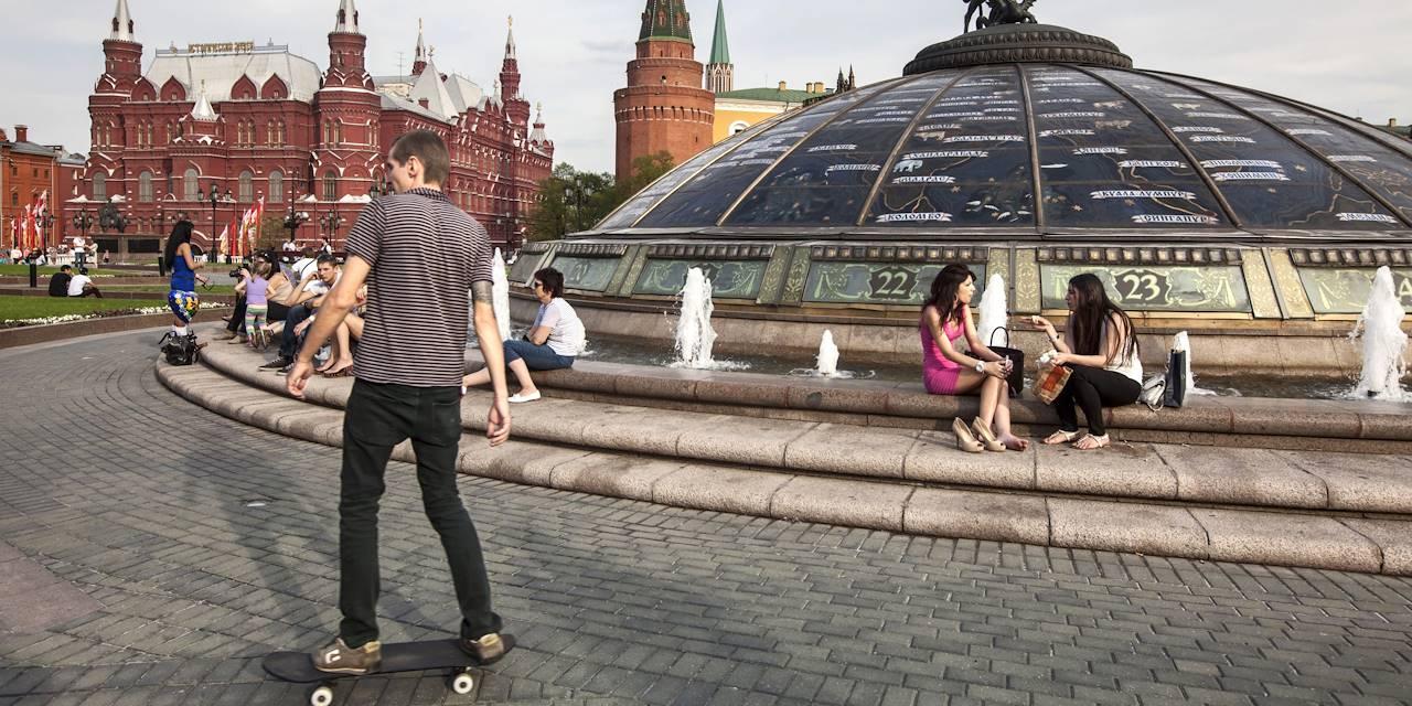 Place du manège - Moscou - Russie