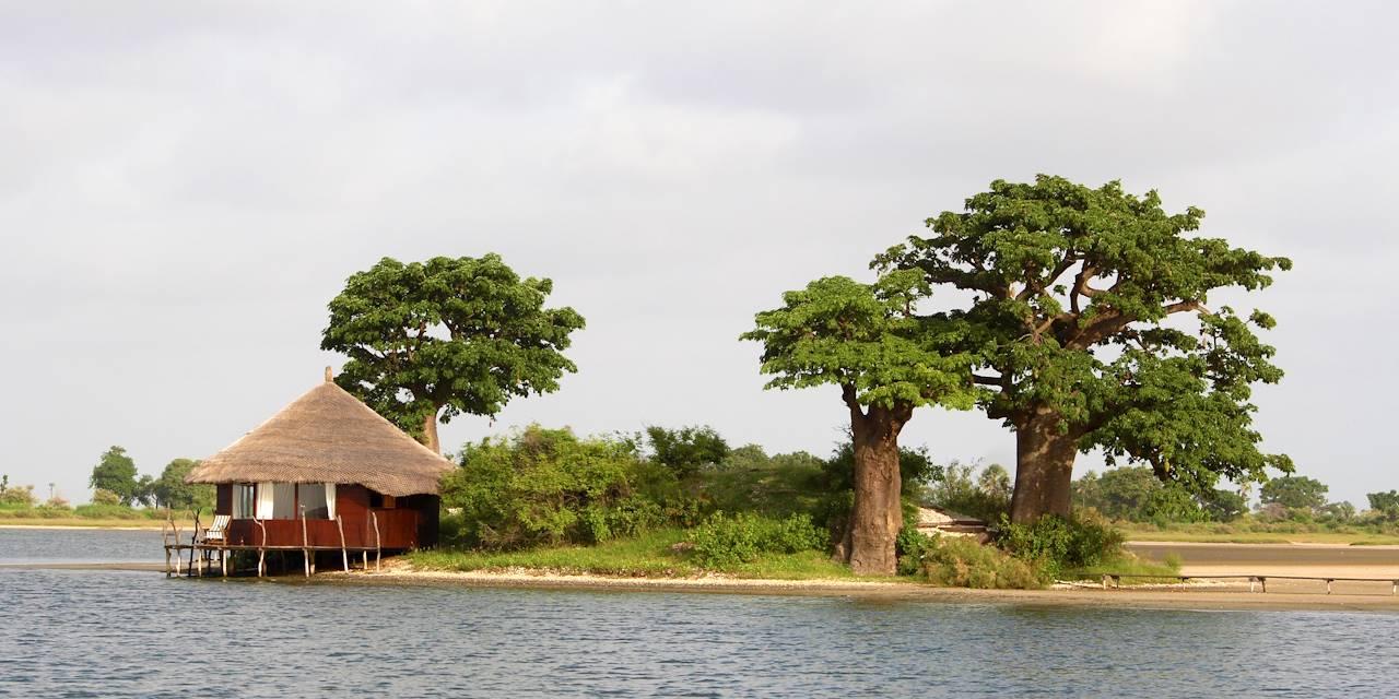 Écolodge dans la réserve de Palmarin - Delta du Siné-Saloum - Sénégal