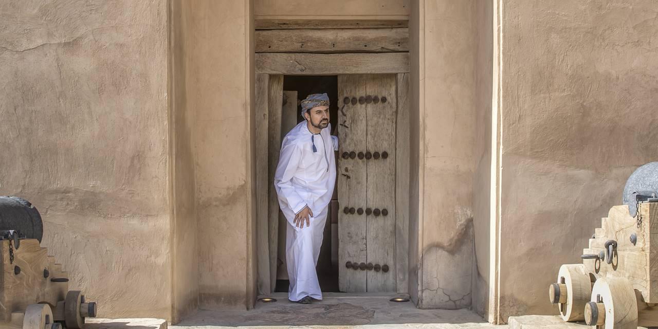 Homme à Oman
