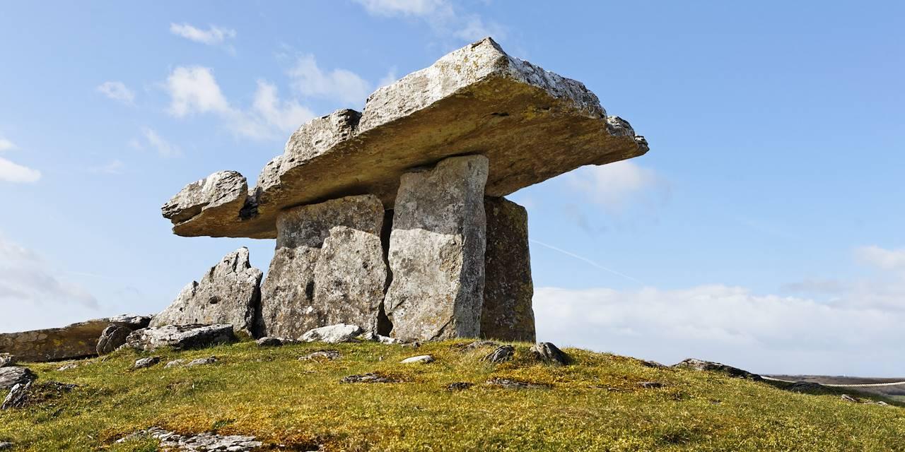 Dolmen de Poulnabrone - Burren - Irlande
