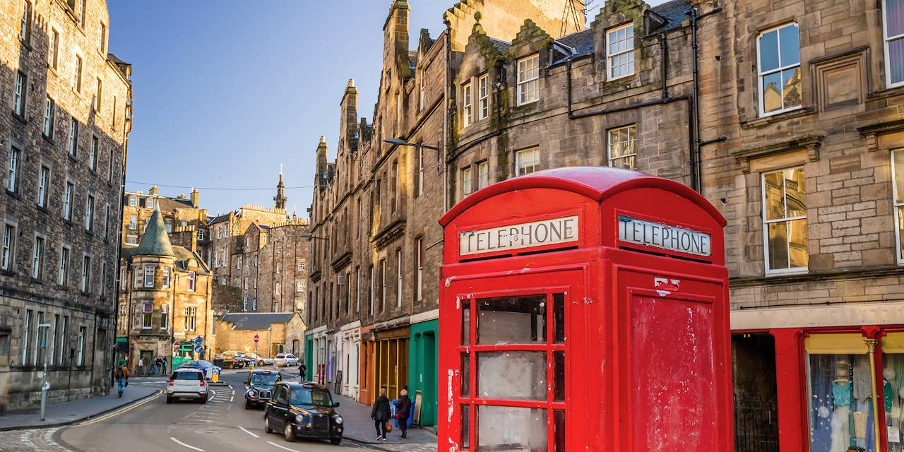 The Royal Mile, Edimbourg, Ecosse - Royaume-Uni
