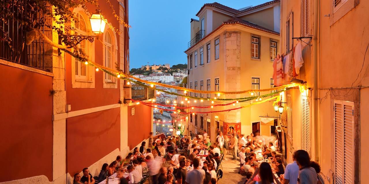 Dans les rues de Lisbonne - Portugal