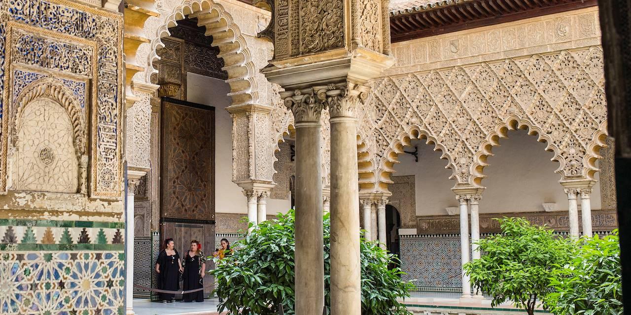 Alcazar de Séville - Andalousie - Espagne