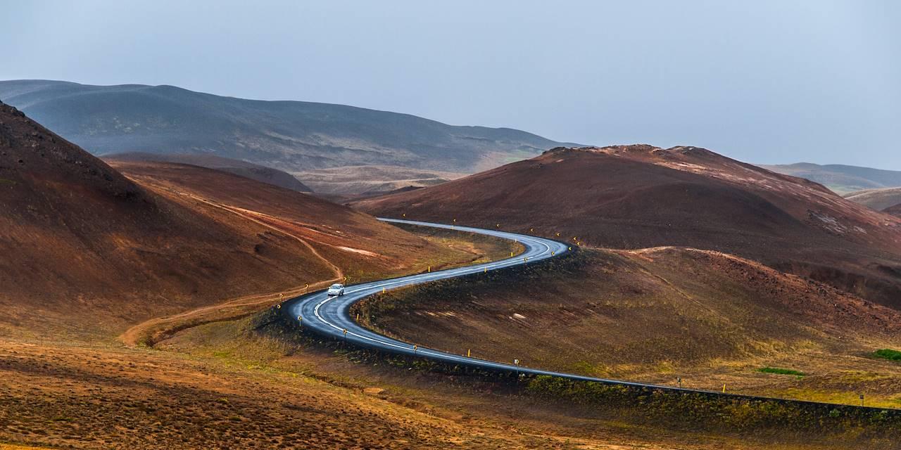 Sur la route - Islande