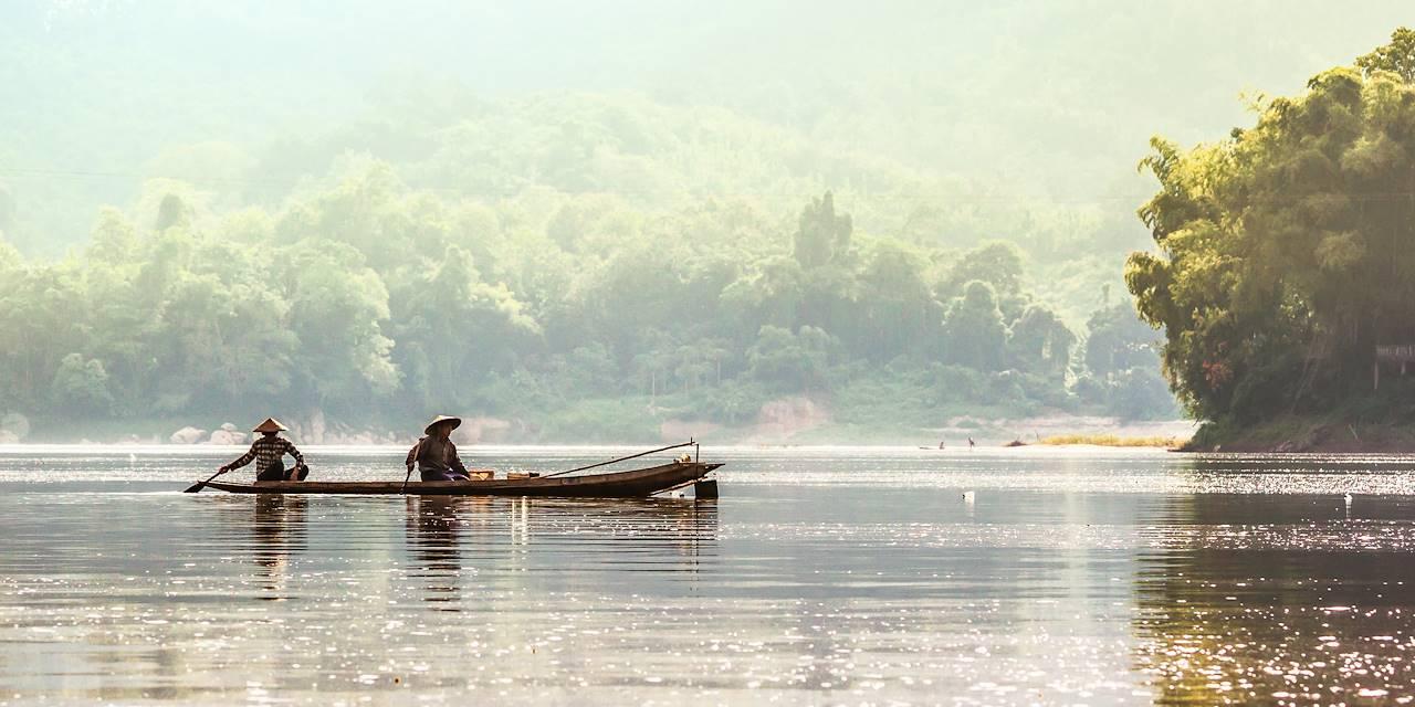 Pêcheurs - Laos
