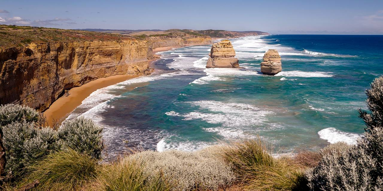 """Twelve Apostles"", dans le parc national de Port Campbell - Melbourne - Australie"