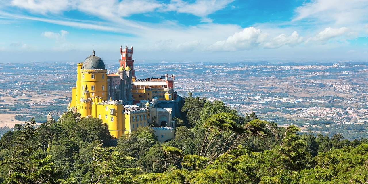 Palais national de Pena à Sintra - Portugal