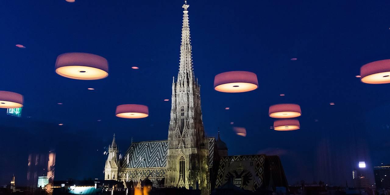 Vue sur la cathédrale depuis le Sky Café - Vienne - Autriche
