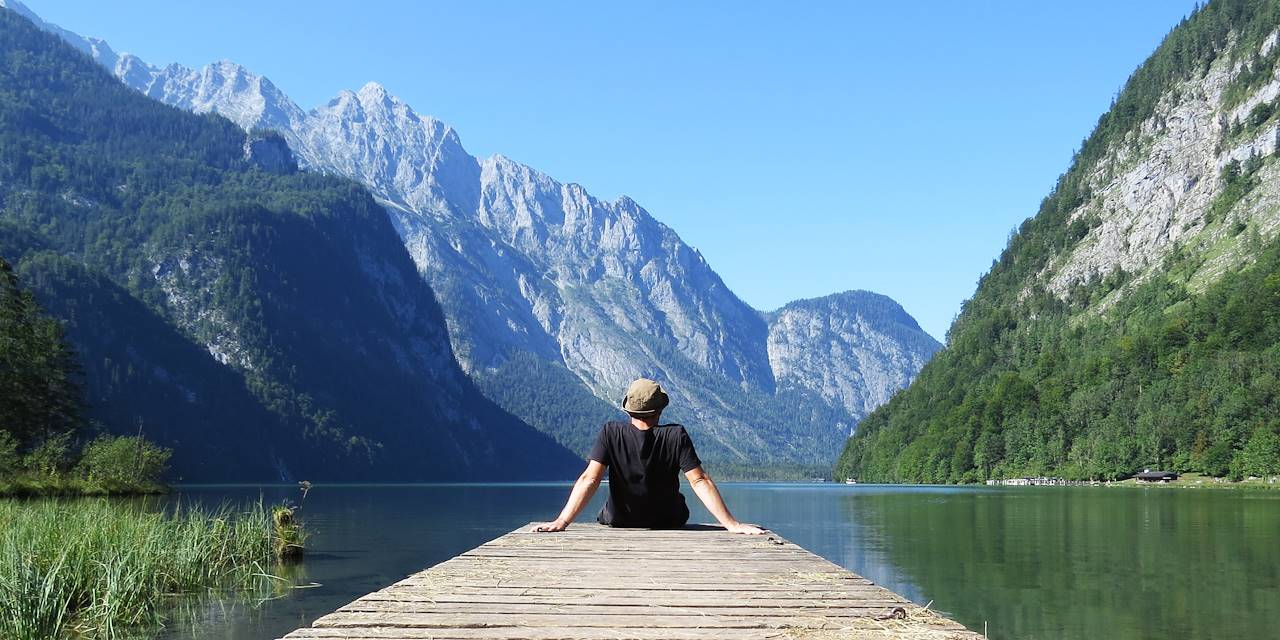 Lac alpin du Salzkammergut - Autriche